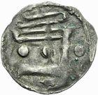 Photo numismatique  ARCHIVES VENTE 2011 -Coll Amateur Bourguignon 2 BARONNIALES et ETRANGERES Vicomté de CHÂTEAUDUN ANONYMES (vers 1130-1160) 147- Obole.