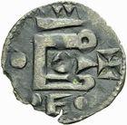 Photo numismatique  ARCHIVES VENTE 2011 -Coll Amateur Bourguignon 2 BARONNIALES et ETRANGERES Comté du PERCHE (Anonymes vers 1160-1180) 146- Obole.