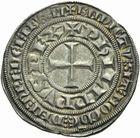 Photo numismatique  ARCHIVES VENTE 2011 -Coll Amateur Bourguignon 2 ROYALES FRANCAISES PHILIPPE IV LE BEL (5 octobre 1285-30 novembre 1314)  107- Gros tournois à l'O rond (1305 ?).