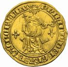 Photo numismatique  ARCHIVES VENTE 2011 -Coll Amateur Bourguignon 2 ROYALES FRANCAISES PHILIPPE IV LE BEL (5 octobre 1285-30 novembre 1314)  105- Florin d'or dit « à la Reine » (1305).