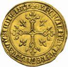 Photo numismatique  ARCHIVES VENTE 2011 -Coll Amateur Bourguignon 2 ROYALES FRANCAISES PHILIPPE IV LE BEL (5 octobre 1285-30 novembre 1314)  105- Florin d'or dit « à la Reine » (1305).