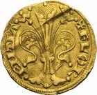 Photo numismatique  ARCHIVES VENTE 2011 -Coll Amateur Bourguignon 2 ROYALES FRANCAISES PHILIPPE IV LE BEL (5 octobre 1285-30 novembre 1314) Rép. de Florence 104-  Florin d'or de 1306, 2ème trimestre, sous la maîtrise de Rodolfo Peruzzi.