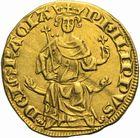 Photo numismatique  ARCHIVES VENTE 2011 -Coll Amateur Bourguignon 2 ROYALES FRANCAISES PHILIPPE IV LE BEL (5 octobre 1285-30 novembre 1314)  103- Petit royal d'or (août 1290).