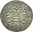Photo numismatique  ARCHIVES VENTE 2011 -Coll Amateur Bourguignon 2 ROYALES FRANCAISES LOUIS IX, Saint Louis (3 novembre 1226-24 août 1270)  99- Gros tournois à l'étoile (1266-1270).
