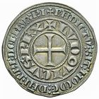 Photo numismatique  ARCHIVES VENTE 2011 -Coll Amateur Bourguignon 2 ROYALES FRANCAISES LOUIS IX, Saint Louis (3 novembre 1226-24 août 1270)  98- Gros tournois (1266-1270).