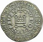 Photo numismatique  ARCHIVES VENTE 2011 -Coll Amateur Bourguignon 2 ROYALES FRANCAISES LOUIS IX, Saint Louis (3 novembre 1226-24 août 1270)  98- Gros tournois (1266-1270).