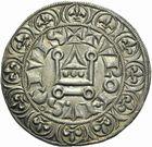 Photo numismatique  ARCHIVES VENTE 2011 -Coll Amateur Bourguignon 2 ROYALES FRANCAISES LOUIS IX, Saint Louis (3 novembre 1226-24 août 1270)  97- Gros tournois (1266-1270).