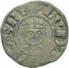 Photo numismatique  ARCHIVES VENTE 2011 -Coll Amateur Bourguignon 2 ROYALES FRANCAISES LOUIS VII (1er août 1137-18 septembre 1180)  89- Denier frappé à Laon avec l'Evêque Gautier I ou Gautier II (1151-1155 et 1155-1174).