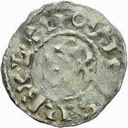 Photo numismatique  ARCHIVES VENTE 2011 -Coll Amateur Bourguignon 2 ROYALES FRANCAISES LOUIS VI (29 juillet 1108-1er août 1137)  85- Denier du 2ème type, frappé à Pontoise.