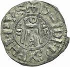 Photo numismatique  ARCHIVES VENTE 2011 -Coll Amateur Bourguignon 2 ROYALES FRANCAISES PHILIPPE Ier (4 août 1060-29 juillet 1108)  77- Denier du 2ème type, frappé à Orléans.