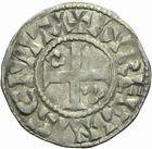 Photo numismatique  ARCHIVES VENTE 2011 -Coll Amateur Bourguignon 2 ROYALES FRANCAISES PHILIPPE Ier (4 août 1060-29 juillet 1108)  76- Denier du 1er type, frappé à Orléans.
