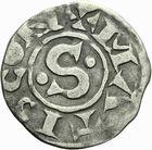 Photo numismatique  ARCHIVES VENTE 2011 -Coll Amateur Bourguignon 2 ROYALES FRANCAISES PHILIPPE Ier (4 août 1060-29 juillet 1108)  74- Denier du 2ème type, frappé à Mâcon.