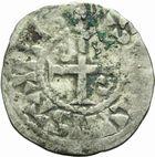 Photo numismatique  ARCHIVES VENTE 2011 -Coll Amateur Bourguignon 2 ROYALES FRANCAISES PHILIPPE Ier (4 août 1060-29 juillet 1108)  73- Obole du 4ème type, frappée à Etampes.