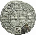 Photo numismatique  ARCHIVES VENTE 2011 -Coll Amateur Bourguignon 2 ROYALES FRANCAISES PHILIPPE Ier (4 août 1060-29 juillet 1108)  72- Denier du 4ème type, frappé à Etampes.