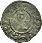 Photo numismatique  ARCHIVES VENTE 2011 -Coll Amateur Bourguignon 2 ROYALES FRANCAISES PHILIPPE Ier (4 août 1060-29 juillet 1108)  69- Denier frappé à Dreux.