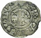 Photo numismatique  ARCHIVES VENTE 2011 -Coll Amateur Bourguignon 2 ROYALES FRANCAISES PHILIPPE Ier (4 août 1060-29 juillet 1108)  68- Obole du 3ème type, frappée à Château-Landon.