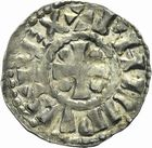 Photo numismatique  ARCHIVES VENTE 2011 -Coll Amateur Bourguignon 2 ROYALES FRANCAISES PHILIPPE Ier (4 août 1060-29 juillet 1108)  64- Denier du 2ème type, frappé à Chalon-sur-Saône.