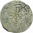 Photo numismatique  ARCHIVES VENTE 2011 -Coll Amateur Bourguignon 2 ROYALES FRANCAISES ROBERT II le Pieux (996-1031)  60- Denier frappé à Laon avec l'Evêque Adalbéron (977-1030).