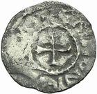Photo numismatique  ARCHIVES VENTE 2011 -Coll Amateur Bourguignon 2 CAROLINGIENS TOURAINE - Premières monnaies baronniales (vers 920-940)  56- Obole de Tours-Chinon.