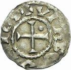 Photo numismatique  ARCHIVES VENTE 2011 -Coll Amateur Bourguignon 2 CAROLINGIENS RAOUL (13 juillet 923-janvier 936)  53- Denier frappé à Verdun.