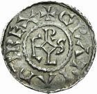 Photo numismatique  ARCHIVES VENTE 2011 -Coll Amateur Bourguignon 2 CAROLINGIENS CHARLES LE CHAUVE, roi (840-875) - empereur (jour de Noël 875-6 octobre 877) Type GDR (après 864) 47- Denier au type GDR, frappé à Amiens après 864.