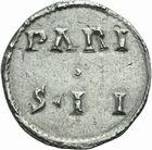 Photo numismatique  ARCHIVES VENTE 2011 -Coll Amateur Bourguignon 2 CAROLINGIENS CHARLES LE CHAUVE, roi (840-875) - empereur (jour de Noël 875-6 octobre 877) Type bilinéaire (840-864) 42- Denier frappé à  Paris avant 864.