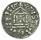 Photo numismatique  ARCHIVES VENTE 2011 -Coll Amateur Bourguignon 2 CAROLINGIENS LOTHAIRE Ier, empereur (817-855)  40- Denier au temple.