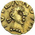 Photo numismatique  ARCHIVES VENTE 2011 -Coll Amateur Bourguignon 2 PEUPLES BARBARES MEROVINGIENS CITES TOULX-SAINTE-CROIX (Creuse) 32- Triens au nom du monétaire Maur…