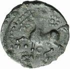 Photo numismatique  ARCHIVES VENTE 2011 -Coll Amateur Bourguignon 2 GAULE - CELTES ARVERNES (région de l'Auvergne)  27- Bronze à la volute et à l'anneau perlé.