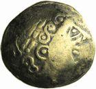 Photo numismatique  ARCHIVES VENTE 2011 -Coll Amateur Bourguignon 2 GAULE - CELTES EST de la Gaule (entre Saône et Jura) (2ème siècle et 1er tiers di 1er siècle avant J.C.) 23- Statère d'or à la roue.