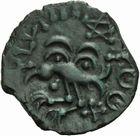 Photo numismatique  ARCHIVES VENTE 2011 -Coll Amateur Bourguignon 2 IBERIE- GAULE - CELTES SENONES (région de Sens)  21- Bronze d'YLLVCCI à la rosace.