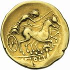 Photo numismatique  ARCHIVES VENTE 2011 -Coll Amateur Bourguignon 2 GAULE - CELTES ARMORIQUE (3ème siècle avant J.C.)  12- Statère d'or.