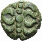Photo numismatique  ARCHIVES VENTE 2011 -Coll Amateur Bourguignon 2 IBERIE- GAULE - CELTES NERVIENS (région de l'Escaut)  10- Bronze.