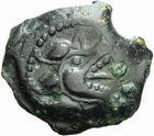 Photo numismatique  MONNAIES GAULE - CELTES BITURIGES et LEMOVICES (Régions de Bourges et Limoges)  Bronze au S couché.