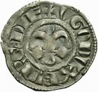 Photo numismatique  MONNAIES BARONNIALES Duché de BOURGOGNE HUGUES III (1162-1192) Denier de Dijon.