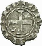 Photo numismatique  MONNAIES BARONNIALES Duché de BOURGOGNE ROBERT II (1272-1306) Denier de Dijon.