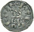 Photo numismatique  MONNAIES BARONNIALES Duché de BOURGOGNE EUDES IV (1315-1349) Denier de type tournois avec BG.