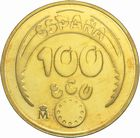 Photo numismatique  MONNAIES MONNAIES DU MONDE ESPAGNE  100 écu d'or, Charles Quint 1989.
