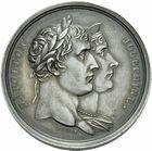 Photo numismatique  MEDAILLES MODERNES FRANÇAISES NAPOLEON Ier, empereur (18 mai 1804- 6 avril 1814)  Médaille d'argent du couronnement, an XIII.