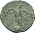 Photo numismatique MONNAIES EMPIRE ROMAIN VESPASIEN (69-79) As de Lyon, 77/78.