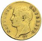 Photo numismatique  MONNAIES MODERNES FRANÇAISES NAPOLEON Ier, roi d'Italie (1805-1814)  40 francs or, Turin 1806.