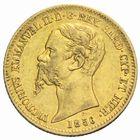 Photo numismatique  MONNAIES MONNAIES DU MONDE ITALIE SAVOIE-SARDAIGNE, Victor Emmanuel II, roi élu (1849-1861) 20 lire or, Gênes 1856.