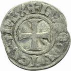 Photo numismatique  MONNAIES ROYALES FRANCAISES LOUIS VII (1er août 1137-18 septembre 1180)  Denier de Senlis.