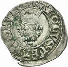 Photo numismatique  MONNAIES ROYALES FRANCAISES CHARLES VI (16 septembre 1380-21 octobre 1422) Monnayage du dauphin régent Florette de Rouen