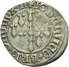 Photo numismatique  MONNAIES BARONNIALES Duché de BRETAGNE JEAN V (1399-1442) Blanc aux neuf mouchetures, Nantes.