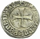Photo numismatique  MONNAIES BARONNIALES Duché de BRETAGNE FRANCOIS Ier (1442-1450) Blanc à la targe.