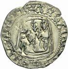Photo numismatique  MONNAIES BARONNIALES Duché de BRETAGNE FRANÇOIS II (1458-1488) Blanc à la targe, Rennes.