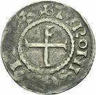 Photo numismatique  MONNAIES BARONNIALES Abbaye de SAINT-MARTIN de TOURS (Fin Xe-début XIe) Denier au temple.