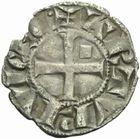 Photo numismatique  MONNAIES BARONNIALES Vicomté de LIMOGES ARTHUR duc de BRETAGNE (1275-1301) Denier.