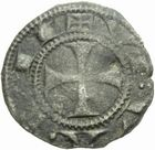 Photo numismatique  MONNAIES BARONNIALES Evêché de VIVIERS ANONYMES (vers 1225-1250) Denier.